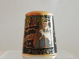 """Dé En Cloisonné """"Provence"""" - Dés à Coudre"""