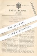 Original Patent - Jos. Weishäuptl , Zürich , 1900 , Dampfmaschinen - Ventilsteuerung   Dampfmaschine   Steuerung - Historische Dokumente