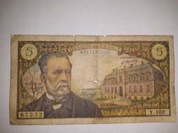 Billet 5 Francs 1969 Pasteur - 1962-1997 ''Francs''