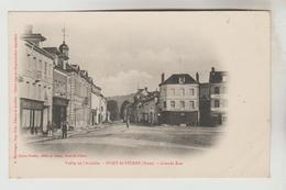 CPA PIONNIERE PONT SAINT PIERRE (Eure) - Grande Rue - France