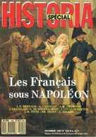 Historia - N°hs 492 - Les Francais Sous Napoléon - Les Francais Sous Napoléon - Histoire