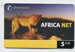 TK 00192 GERMANY - Prepaid Africa Net  5€ - Duitsland