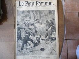 LE PETIT PARISIEN DU 26 AOUT 1894 LE BRIGANDAGE EN ITALIE EN SARDAIGNE,ATTAQUEES PAR UN LOUP,CRIME DE VILLEJUIF - Journaux - Quotidiens