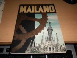 Mailand  Ferrovie Dello Stato 1936 48 Pages - Dépliants Touristiques
