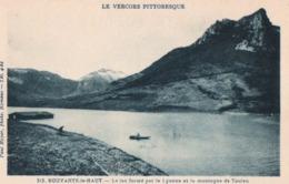 CPA 38 Vercors Pittoresque Bouvante Le Haut - Lac - France