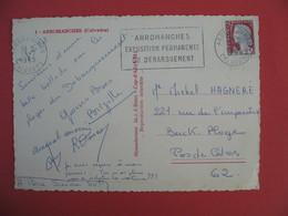 Carte Arromanches Exposition Permanente Du Débarquement  Cachet Calvados 1965 - Expositions