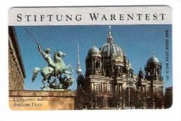 Germany - O 246  08/93 - Stiftung Warentest - Berlin - Lustgarten Und Berliner Dom - Deutschland