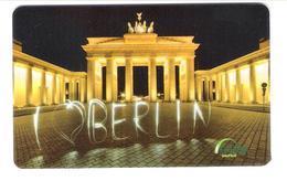 Germany - Carte Cadeau - Gift Card - Geschenkkarte - Galeria Kaufhof - Berlin - Brandenburger Tor - Gift Cards