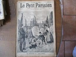 """LE PETIT PARISIEN DU 2 SEPTEMBRE 1894 LES ANNIVERSAIRES DE L""""ANNEE TERRIBLE"""" 1870-1971,AVANT LES GRANDES MANOEUVRES - 1850 - 1899"""
