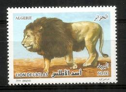 ALGÉRIE. Le Lion De L'Atlas,  Un Timbre Neuf ** D'Algérie - Felinos