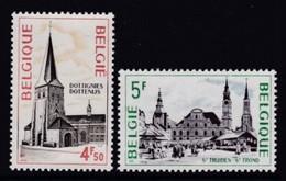 PAIRE NEUVE DE BELGIQUE - SERIE TOURISTIQUE : DOTTIGNIES ET ST-TROND N° Y&T 1763/1764 - Autres