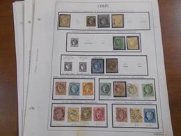 Lot N° 356  FRANCE  Anciens Sur Page D'albums Dont N° 1 , Bordeaux Etcc .... Tous Etats  . Tous Obl. .  No Paypal - Timbres