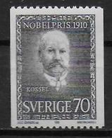 SUEDE  N° 680 * *  Prix Nobel  Medecine Rossel - Medicine