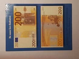 Die Neuen Euro-Banknoten - 200€ Schein ( Gelaufen 1999); H14 - Banques