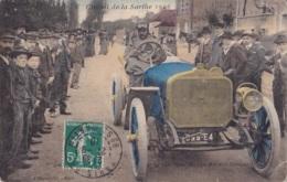 Circuit De La Sarthe 1906 Circulée En 1910 - Frankrijk
