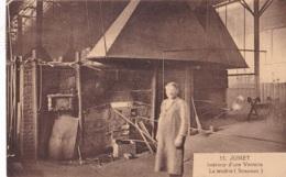 Jumet Intérieur D'une Verrerie La Tendrie ( Stracourt ) Circulée En 1927 - Fleurus