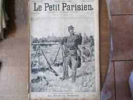 LE PETIT PARISIEN DU 23 SEPTEMBRE 1894 LA GARDE DU DRAPEAU,CHATEAUDUN,LA CATASTROPHE D'APPILLY SAUVETAGE DES VICTIMES - Journaux - Quotidiens