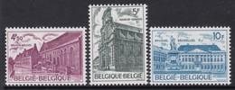 SERIE NEUVE DE BELGIQUE - ANNEE EUROPEENNE DU PATRIMOINE ARCHITECTURAL N° Y&T 1760 A 1762 - Autres