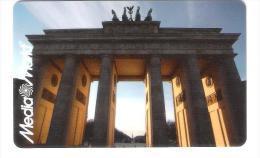 Germany - Allemagne - Media Markt - Carte Cadeau - Carta Regalo - Gift Card - Geschenkkarte - Berlin Brandenburger Tor - Cartes Cadeaux