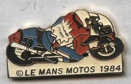 Pin's Moto Le Mans 1984 - Motos