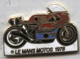 Pin's Moto Le Mans 1978 - Motos