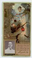 ANCIENNE CARTE CHROMO GAUFREE BISCUITS LU LEFEVRE UTILE MEVISTO ART NOUVEAU - Lu