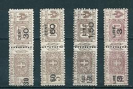 1923 PACCHI POSTALI SOPRASTAMPATI SERIE COMPLETA NUOVO @ - 1900-44 Vittorio Emanuele III
