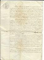 LA SAUVETAT-DU-DROT (47) Mr DURAND Inventeur/Sculpteur... Torchis Cordé, Outils Agricoles Pour Les Pruneaux...1840 - Documents Historiques
