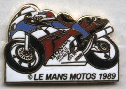 Pin's Moto Le Mans 1989 - Motos