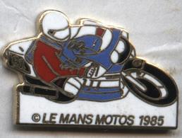 Pin's Moto Le Mans 1985 - Motos