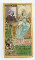 RARE ANCIENNE CARTE CHROMO GAUFREE BISCUITS LU LEFEVRE UTILE A.FRANCE ART NOUVEAU BE - Lu