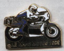 Pin's Moto Le Mans 1982 - Motos