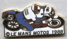 Pin's Moto Le Mans 1988 - Motos