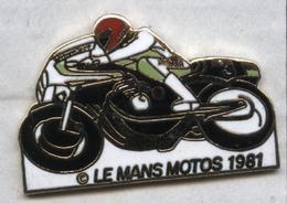 Pin's Moto Le Mans 1981 - Motos