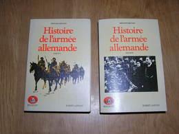 HISTOIRE DE L'ARMEE ALLEMANDE 1918-1937 1937-1939 2 Tomes Benoist-Méchin Guerre Nazi SS Hitler Wehrmacht - Histoire