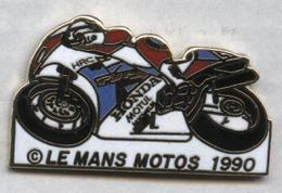 Pin's Moto Le Mans 1990 - Motos
