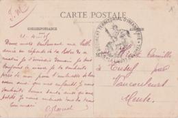 Bt - Cachet 52è Régiment Territorial D'Infanterie - 1915 Sur Cp De Toul - Marcophilie (Lettres)