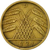 Monnaie, Allemagne, République De Weimar, 10 Reichspfennig, 1929, Munich, TTB - 10 Renten- & 10 Reichspfennig