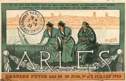 190319A - 13 ARLES GRANDES FETES DES 29 30 JUIN 1er Et 2 JUILLET 1923 Illustrateur LEO LELEE - MISTRAL - Arles