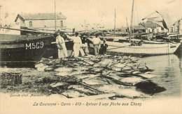 190319A - 13 LA COURONNE CARRO Retour D'une Pêche Aux Thons - Poisson Barque Port Mer - Other Municipalities