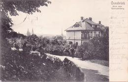Seltene Alte  AK  OSNABRÜCK / Niedersachsen  - Blick Vom Gertrudenberg - 1908 Gelaufen - Osnabrueck