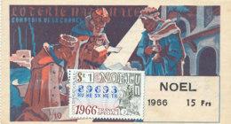 BL 19 / BILLET  LOTERIE NATIONALE   COMPTOIR DE LA CHANCE        NOEL     1966 - Billets De Loterie