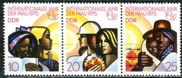 DDR - Mi 2019 / 2021 = WZd 322 - ** Postfrisch (B) - Jahr Der Frau - DDR
