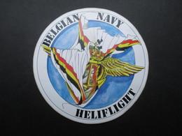 VP AUTOCOLLANT (M1905) BELGIAN NAVY HELIFLIGHT (1 VUE) - Autocollants