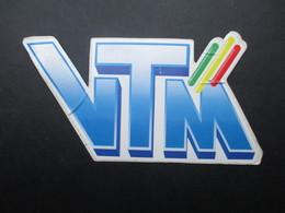 VP AUTOCOLLANT (M1905) RADIO TELEVISION (1 VUE) VTM - Autocollants