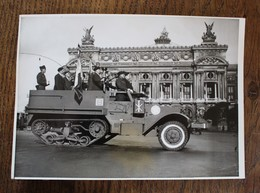 Photo De Presse Ancien Combattant Belge Et Français Bataille Yser Paris 1948 - Documents