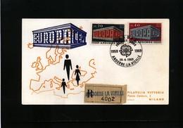Andorra 1969 Europa Cept FDC - Europa-CEPT