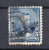 ETATS-UNIS - USA - PUERTO-RICO - 5ç - Avec Surcharge - 1899 - Oblitéré - Used - - Puerto Rico