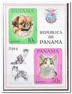 Panama 1967, Postfris MNH, Cats, Dogs - Panama