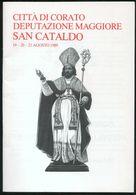 PROGRAMMA  FESTEGGIAMENTI PER SAN CATALDO PROTETTORE DI CORATO - ANNO 1989 - Programmes